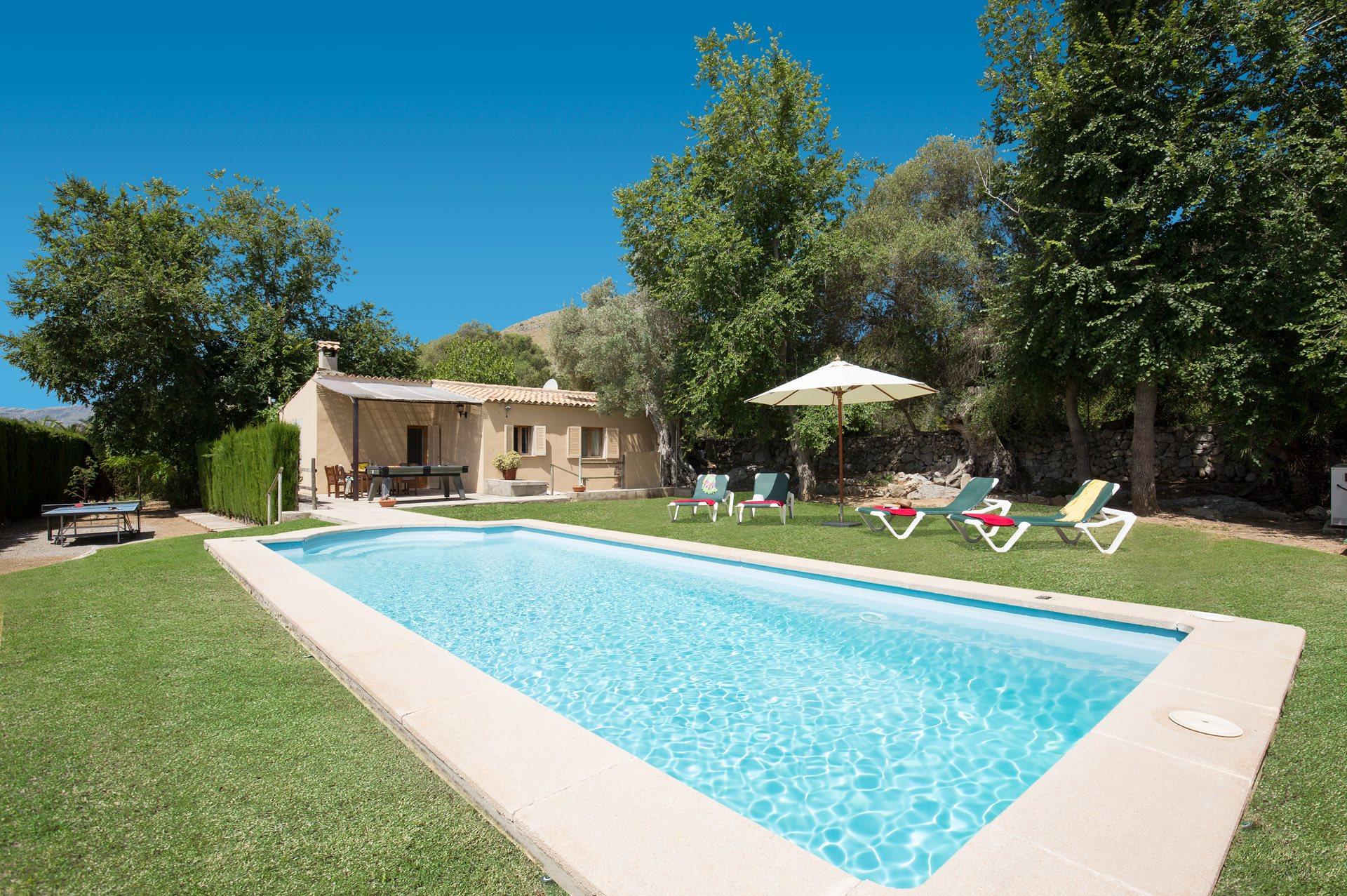 Villa Olivo, Puerto Pollensa, Majorca, Spain