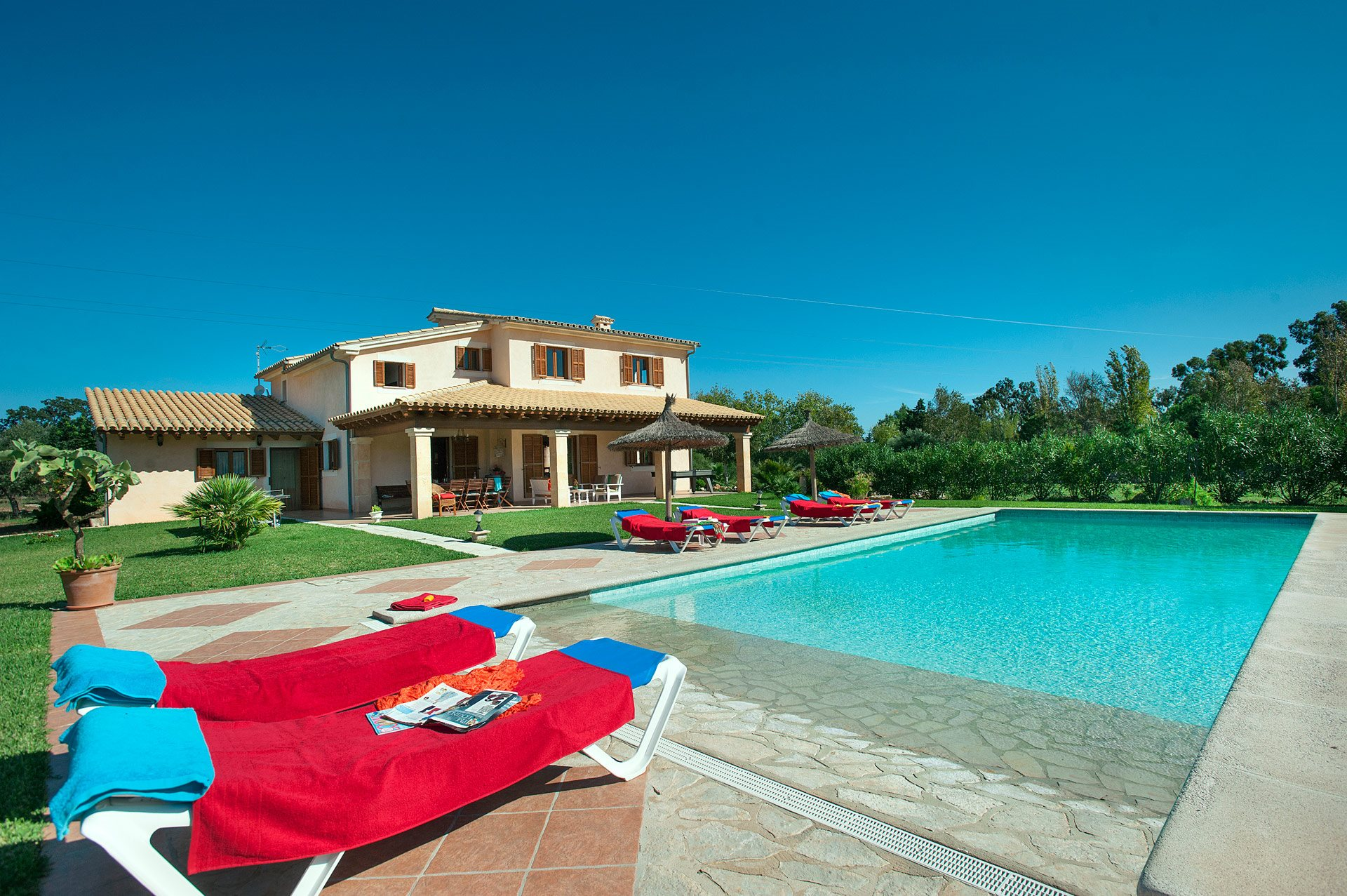 Villa Pallicer, Pollensa, Majorca, Spain