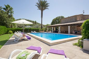 Villa Papa, Cala San Vicente, Majorca, Spain