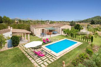 Villa Penasso, Pollensa, Majorca, Spain