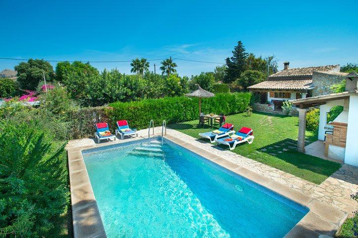 Villa Perez, Pollensa, Majorca, Spain