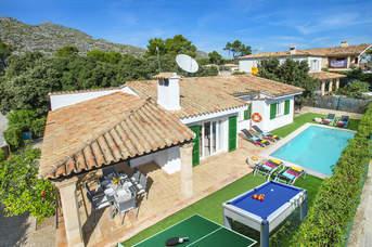 Villa Peyro, Cala San Vicente, Majorca, Spain