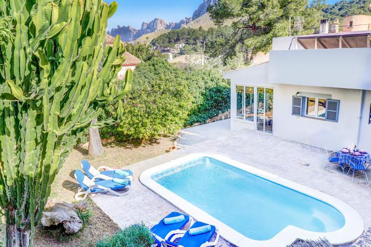 Villa Pi Gros, Cala San Vicente, Majorca, Spain