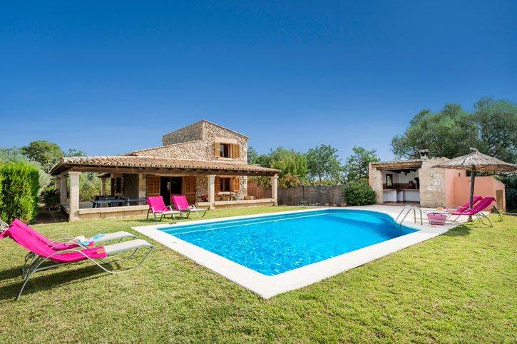 Villa Pili-Maria, Pollensa, Majorca, Spain