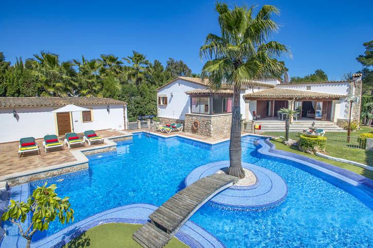 Villa Pinos, Puerto Pollensa, Majorca, Spain