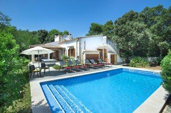 Villa Pitort, Cala San Vicente, Majorca, Spain