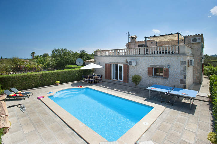 Villa Poley, Pollensa, Majorca, Spain