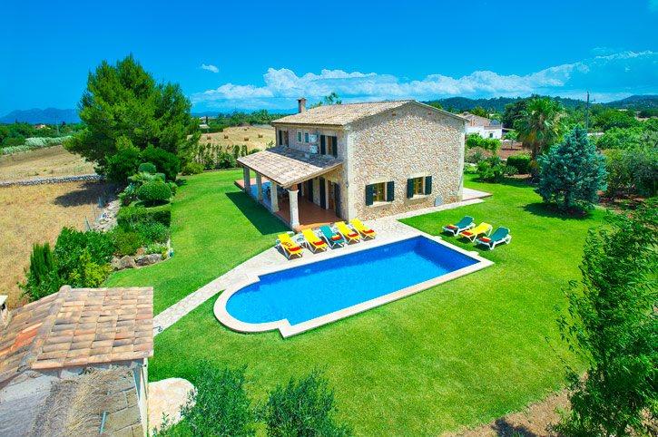 Villa Pou Nou, Pollensa, Majorca, Spain