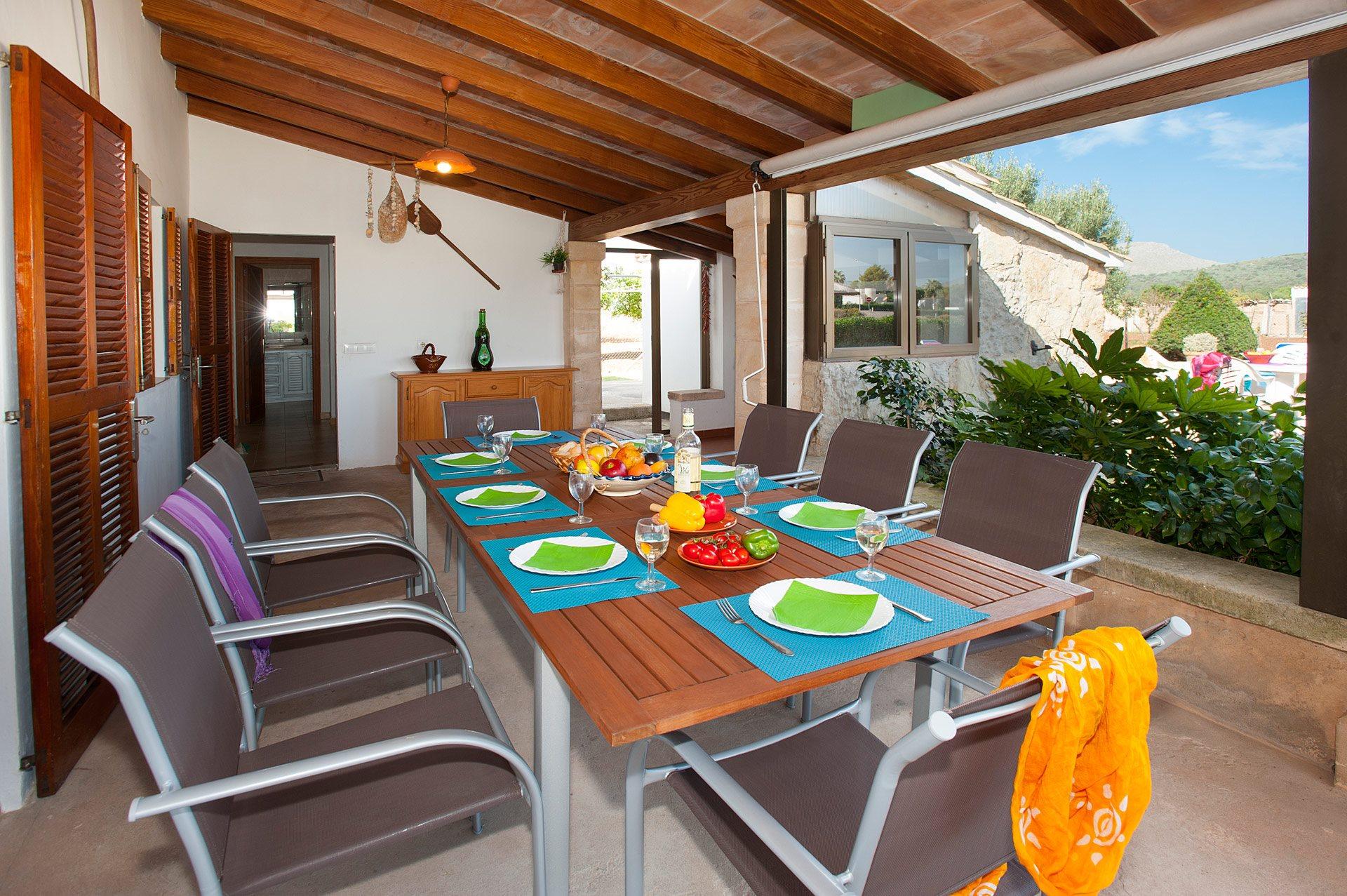Villa Raco Vaquer In Puerto Pollensa Majorca Villa Plus