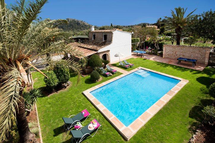 Villa Rafael, Pollensa, Majorca, Spain