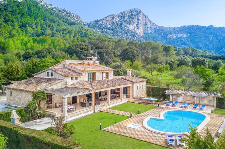 Villa Rafalet, Pollensa, Majorca, Spain