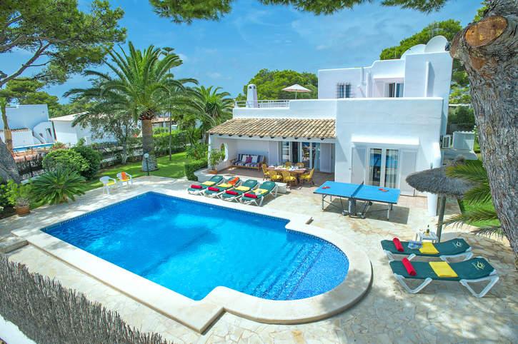 Villa Reco, Cala D'or, Majorca, Spain