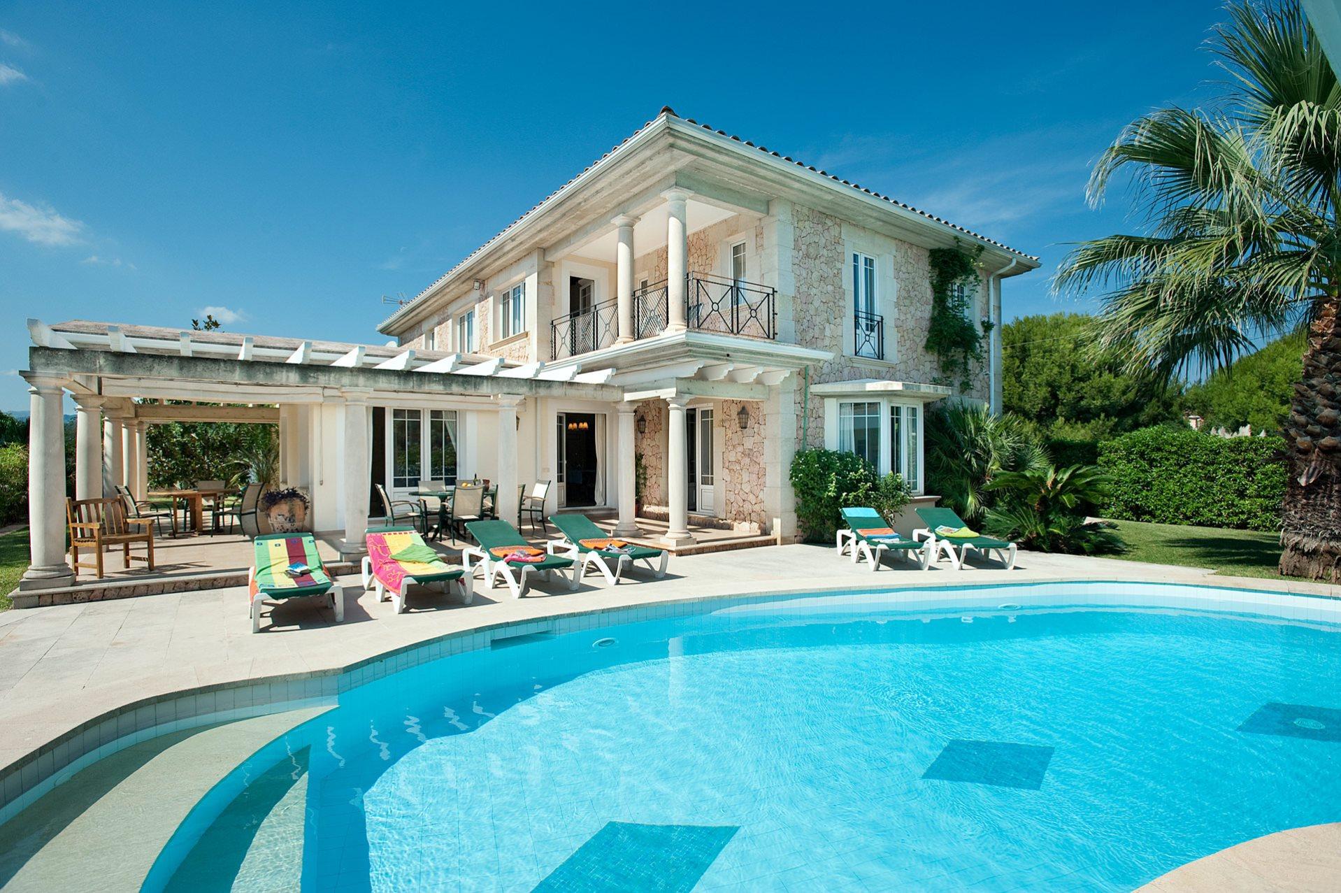 Villa Rocamar, Puerto Pollensa, Majorca, Spain