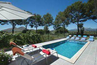 Villa Sa Marina, Alcudia, Majorca, Spain