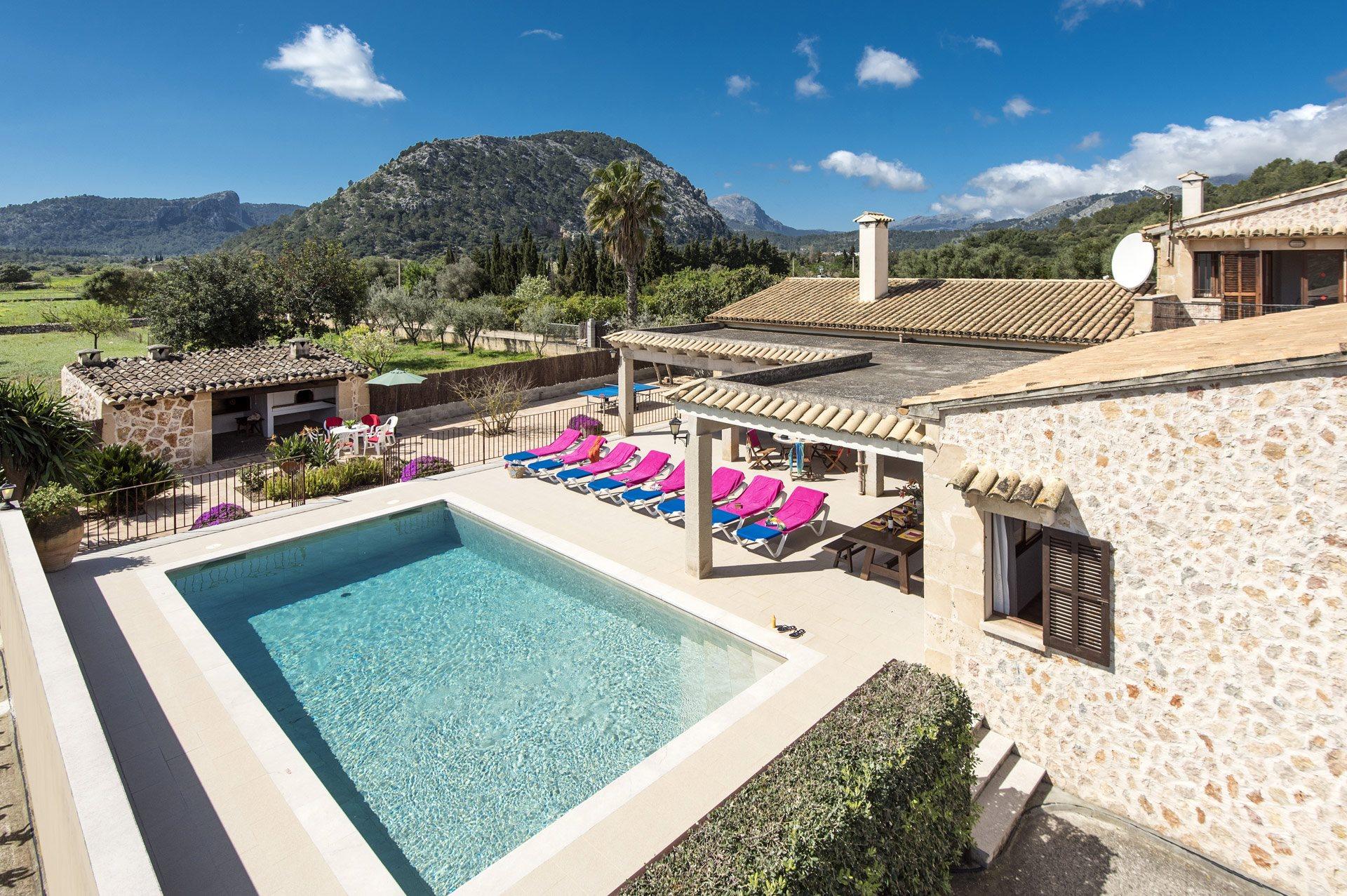 Bedroom Villa Alcudia Majorca