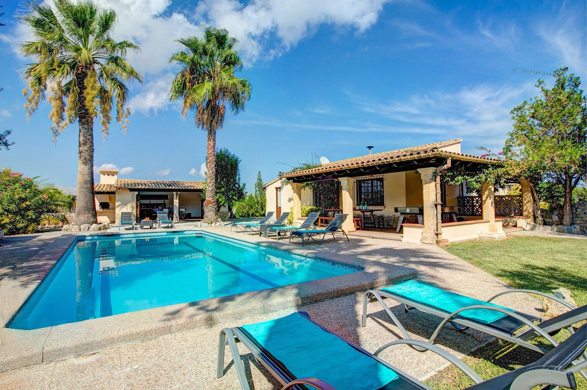 Villa Sebastian, Pollensa, Majorca, Spain