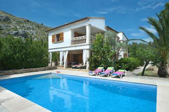Villa Suau Gran, Pollensa, Majorca, Spain