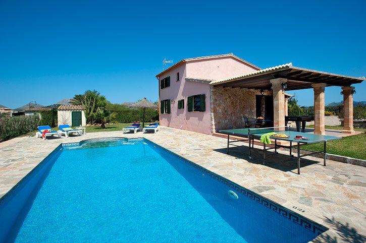 Villa Tabac, Pollensa, Majorca, Spain