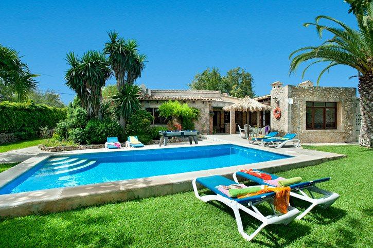 Villa Tia, Pollensa, Majorca, Spain
