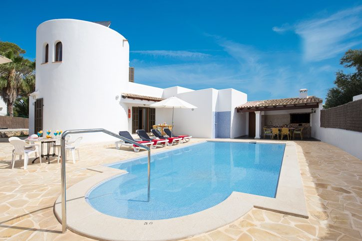 Villa Torreon, Cala D'or, Majorca, Spain