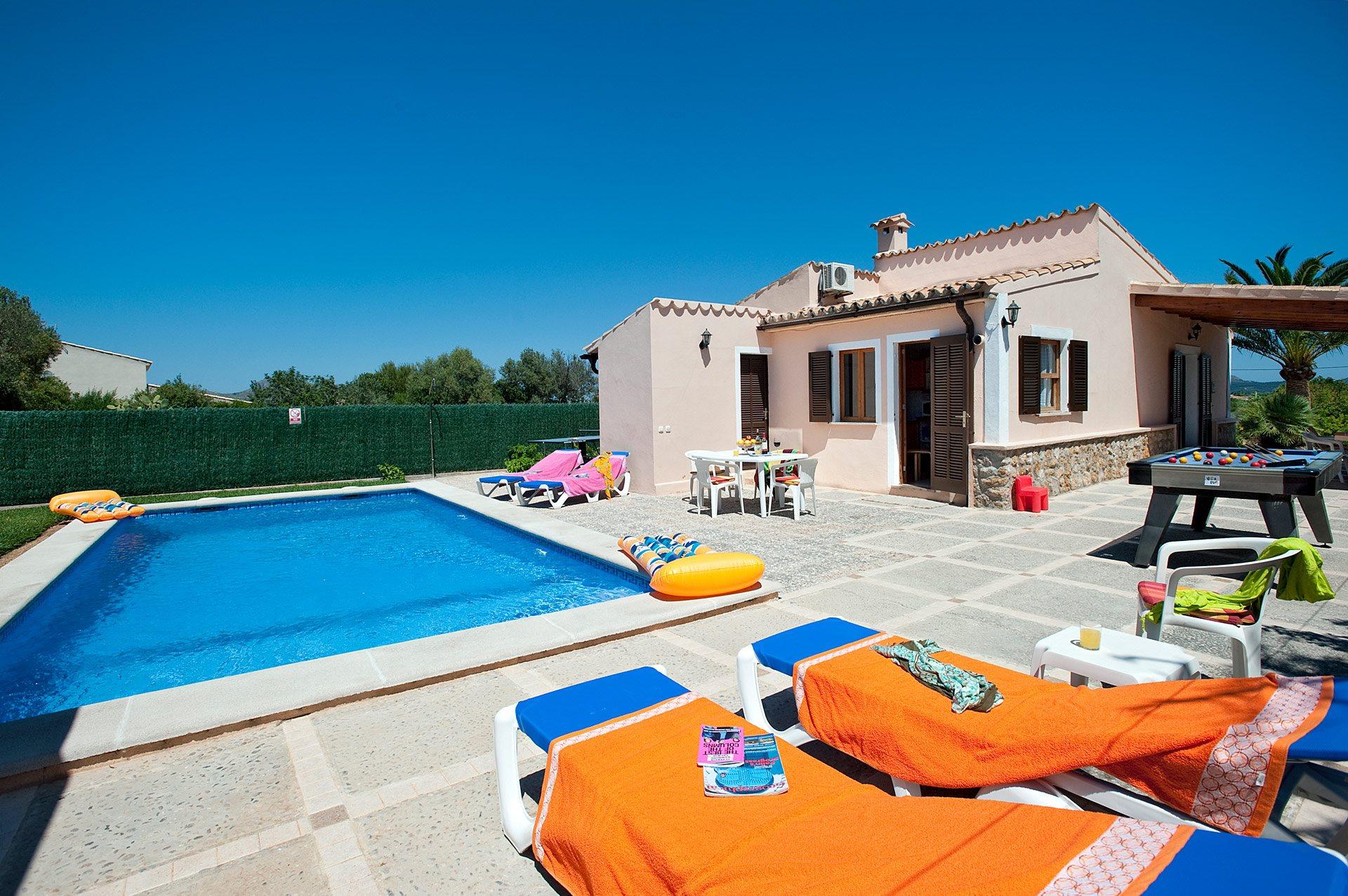 Villa Venancio, Puerto Pollensa, Majorca, Spain