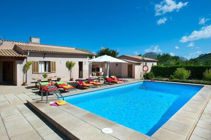 Villa Andreu, Pollensa, Majorca, Spain