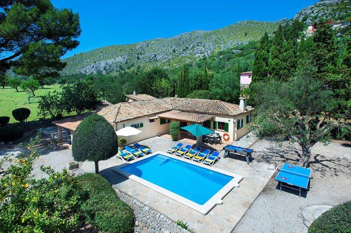 Villa Vilar De Baix, Puerto Pollensa, Majorca, Spain