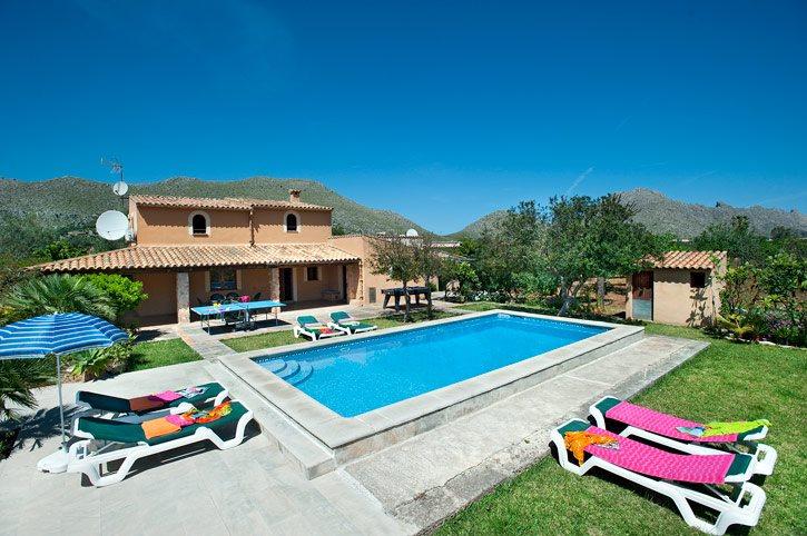 Villa Vinya, Pollensa, Majorca, Spain