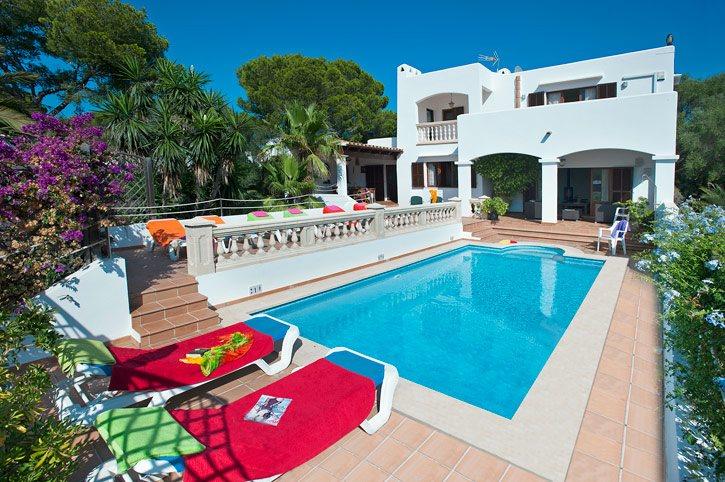 Villa Vista Palmeras, Cala D'or, Majorca, Spain