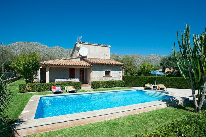Villa Xisca, Pollensa, Majorca, Spain