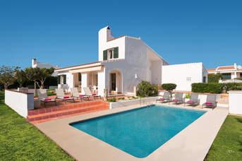 Villa Adelaide, Binibeca, Menorca, Spain