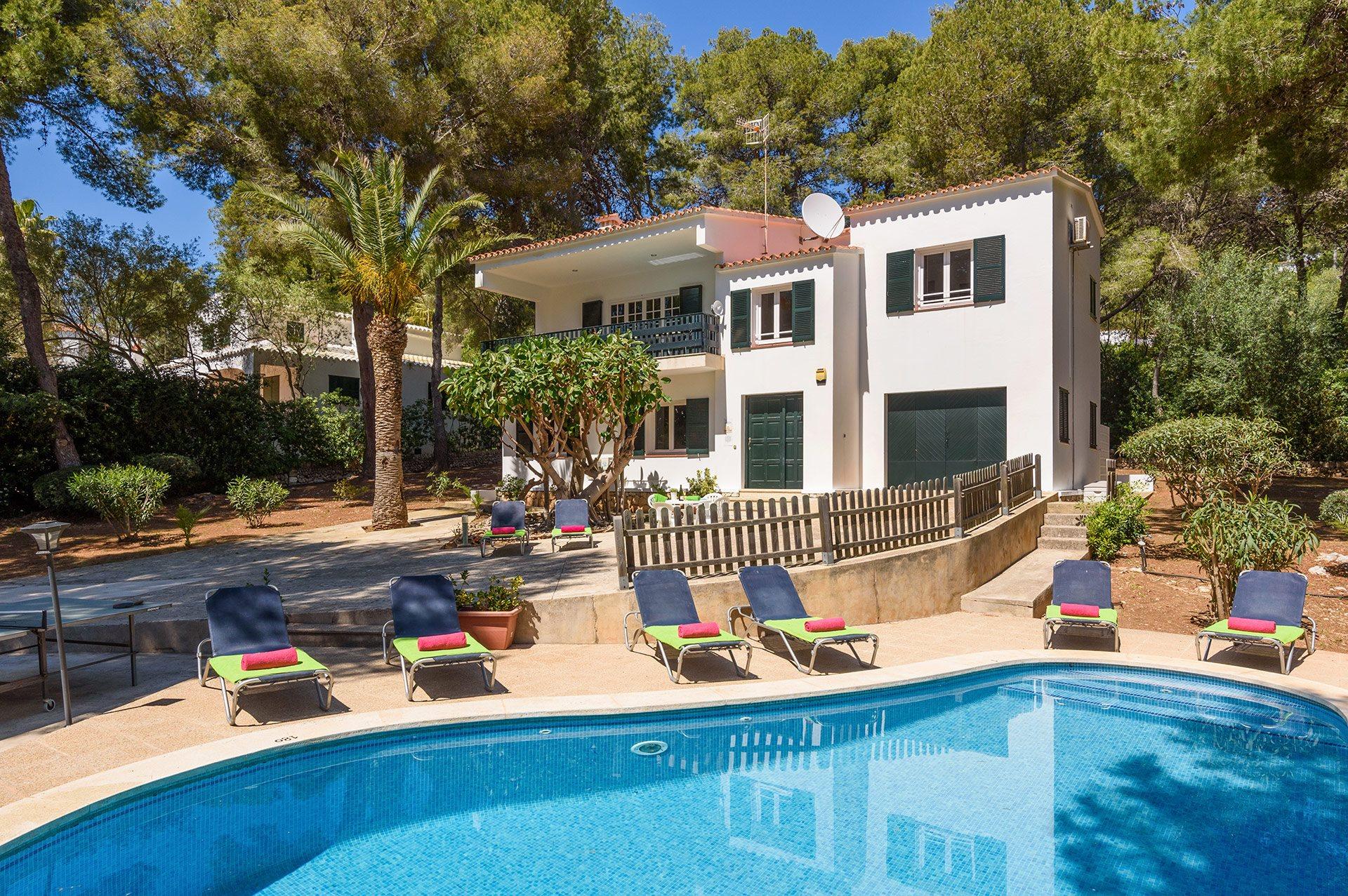 Villa Alessandra, Santo Tomas, Menorca, Spain