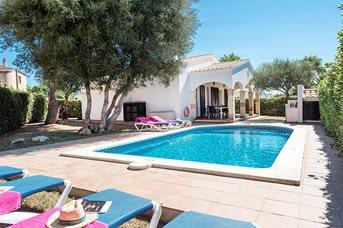 Villa Alondra, Calan Blanes, Menorca, Spain