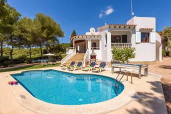 Villa Amapola, Santo Tomas, Menorca, Spain