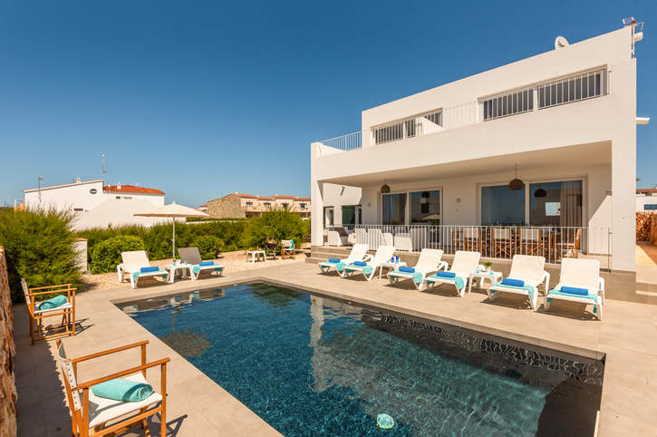 Villa Amatista, Calan Forcat, Menorca, Spain