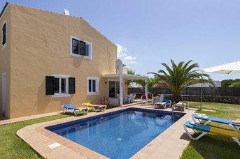 Villa Amaya, Cala Blanca, Menorca, Spain