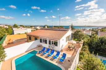 Villa Andres, Punta Prima, Menorca, Spain