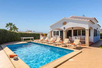 Villa Angelas, Calan Bosch, Menorca, Spain