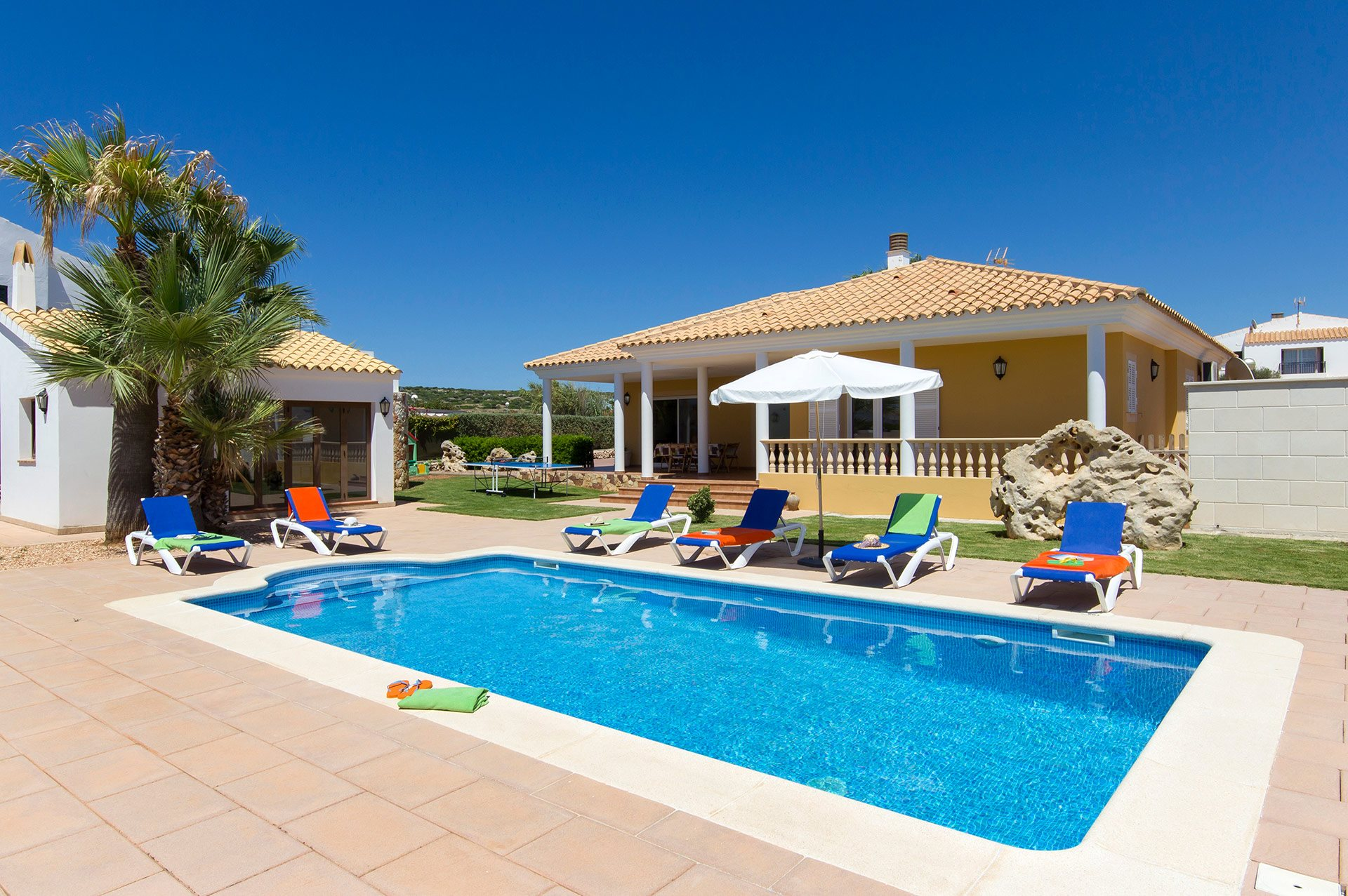 Villa Arianna, Calan Forcat, Menorca, Spain