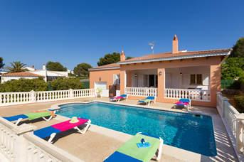 Villa Aurea, Es Canutells, Menorca, Spain