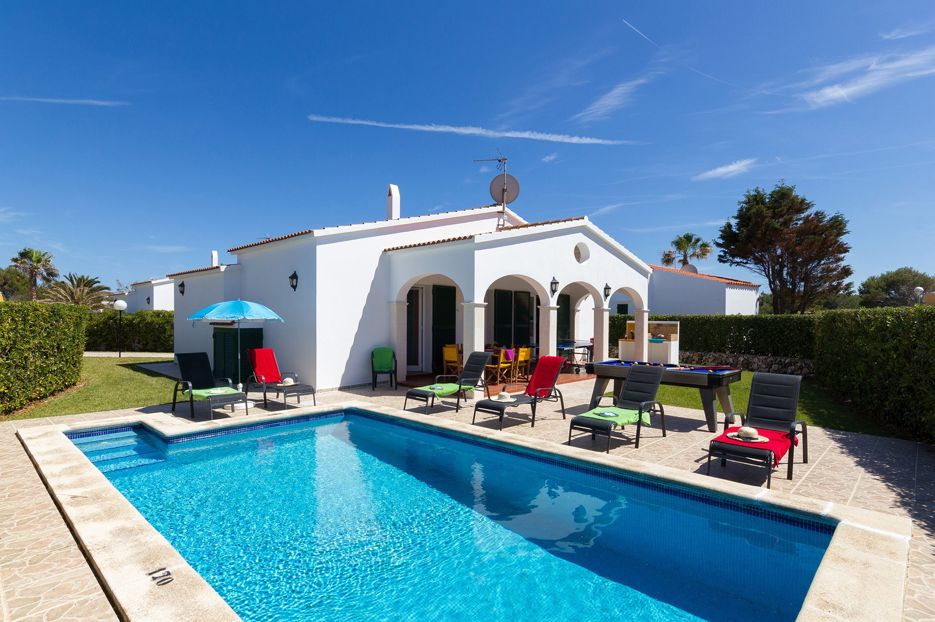 Villa Avellano, Calan Bosch, Menorca, Spain