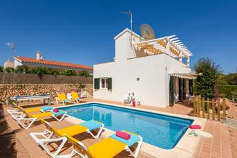 Villa Beatrice, Binibeca, Menorca, Spain