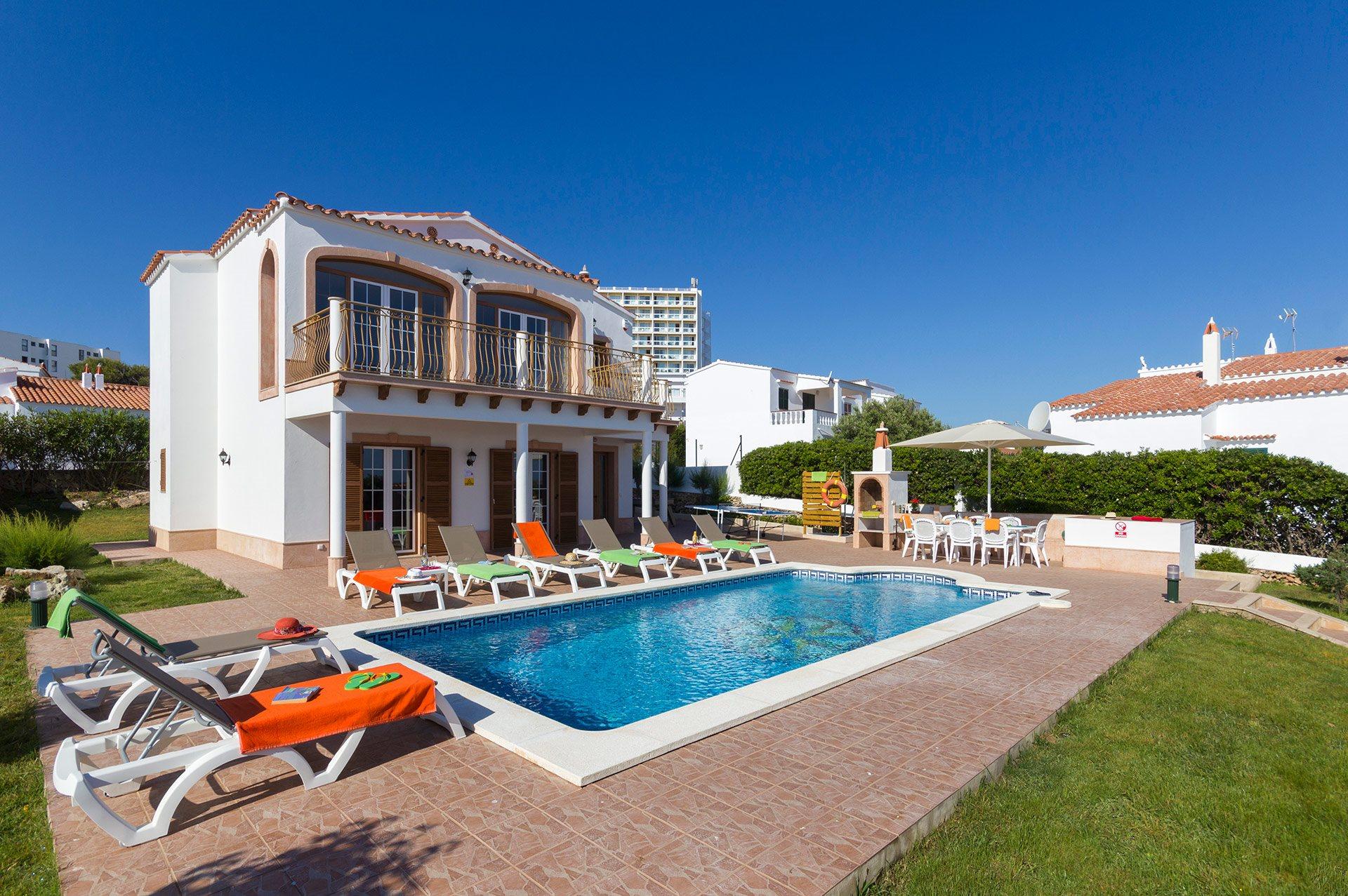 Villa Bellavista, Arenal den Castell, Menorca, Spain