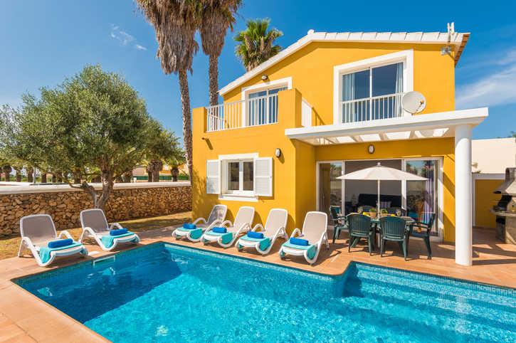 Villa Benjamin, Sa Caleta, Menorca, Spain