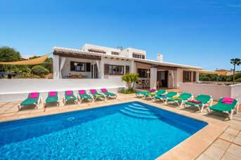 Villa Bini Aida, Binibeca, Menorca, Spain