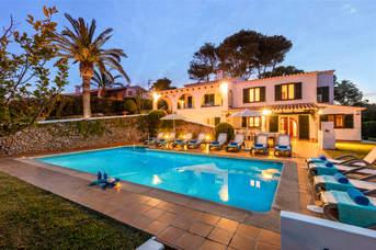 Villa Binibeca Beach, Binibeca, Menorca, Spain