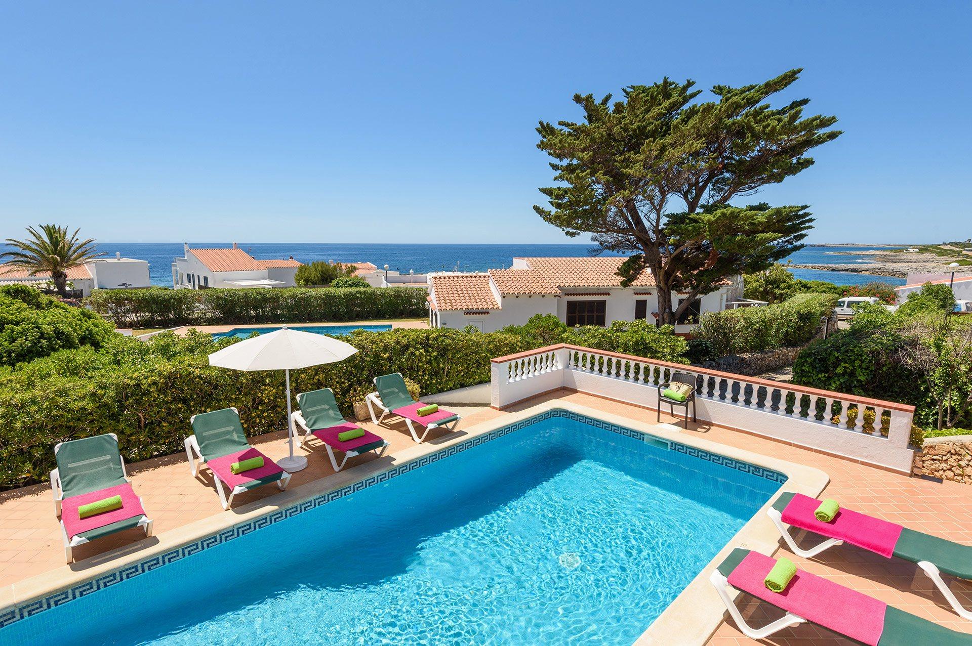 Villa Bini Olivos, Punta Prima, Menorca, Spain