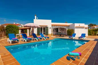 Villa Blancanna, Cala Blanca, Menorca, Spain
