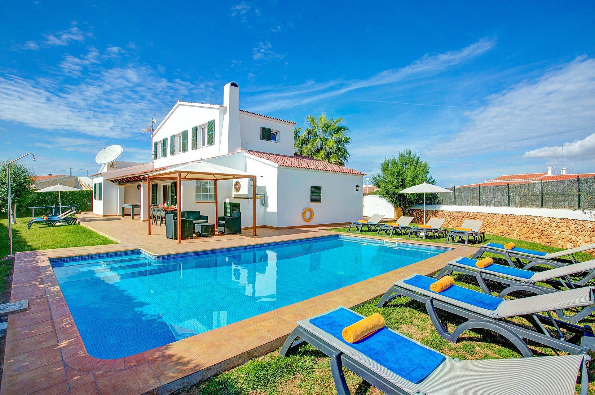 Villa Bonaventura, Calan Bosch, Menorca, Spain