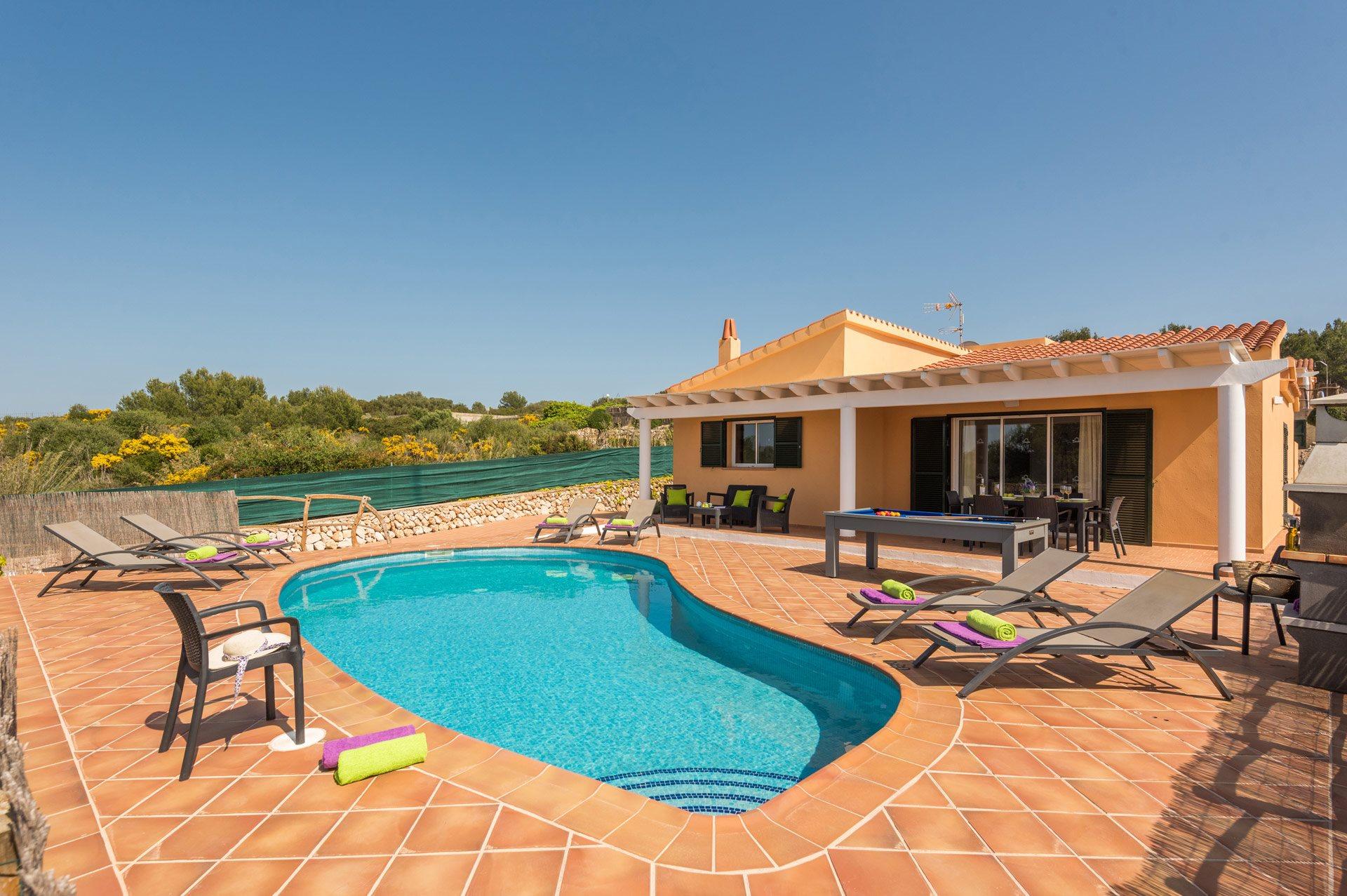 Villa Camomila, Son Bou, Menorca, Spain